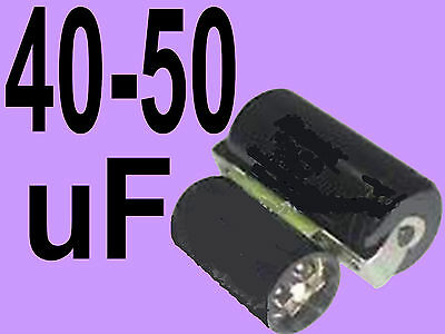 40 - 50 uf mfd microfarad 220/275v electric motor start capacitor