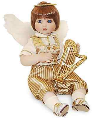 "NIB Marie Osmond Fine Collectibles ""Angel Baby Boy"" Doll"