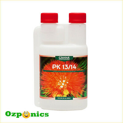 Canna Additives Nutrients Pk 13-14 (250Ml/1L) For Hydroponics Free Shipping