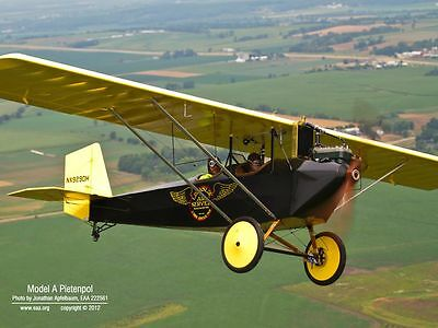 1/5+ Scale Air Camper 85 inch  Giant Scale RC Model AIrplane Printed Plans