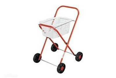 Orbit - Metal Toy Laundry Trolley with Basket