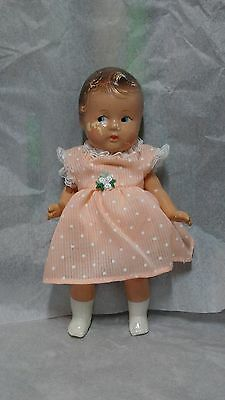 8'' 1930's MADAME ALEXANDER COMPOSITION TINY BETTY-FACE DOLL