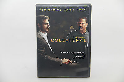 COLLATERAL (DVD, 2004, 2-Disc Set) Tom Cruise, Jamie Foxx FREE SAME DAY SHIPPING