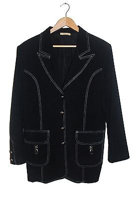 Ozancan Women's Black Jacket Size M