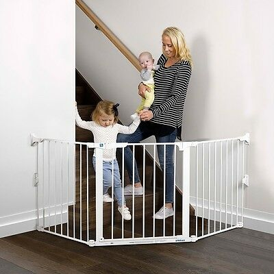 NEW Childcare Baby Child Safety Gate Pet Barrier Flexi Gate #`089344-003