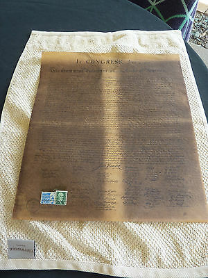 In Congress July 4 1776 Collectible Historical Replica