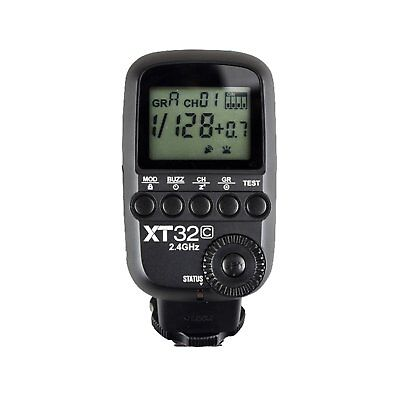 Godox XT32C 1/8000s Built-in 2.4G Wireless Power Control Flash Trigger for Canon