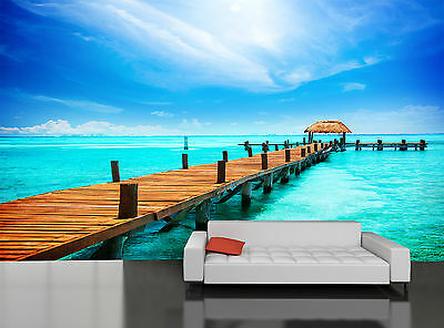 Tropical Paradise Wall Mural Photo Wallpaper GIANT DECOR Paper Poster Free Paste
