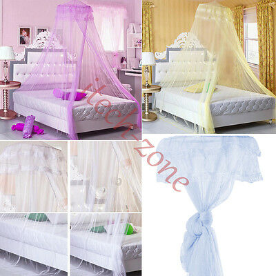 Ceiling Mosquito Nets Bed Canopy Netting Curtain Dome Anti Midges Insect Outdoor