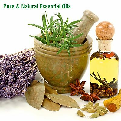 100% Pure and Natural Essential Oils & Carrier Oils 5 ML To 500 ML