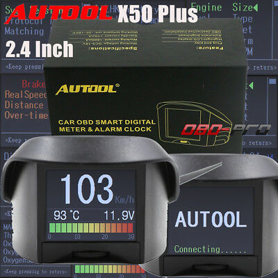 AUTOOL X50 Plus Car OBD2 Smart Digital Early Alarm As ELM327 Fault Code Function