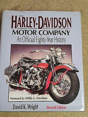 The Harley Davidson Motor Co . An Official 80 Year History