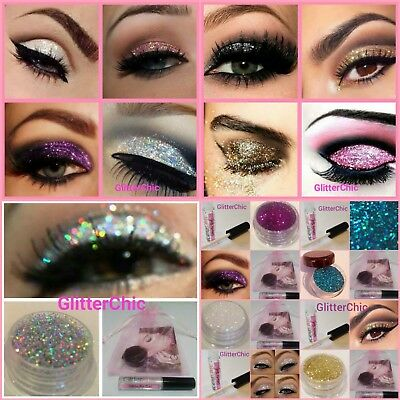 Stargazer Fix Gel + Glitter Eyes  Eye Shadow Makeup Eyes Face Loose Glitter