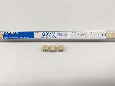 (5 pcs) G3VM-3L Omron, SPST-NO 350vac 120mA, (MOSFET) Solid State Relay