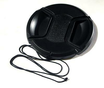 52Mm Centre Pinch And Grip Lens Cap & Cap Keeper Cord