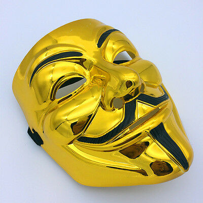 Christmas Cosplay Costumes Party Fancy Anonymous V for Vendetta Guy Fawkes Mask