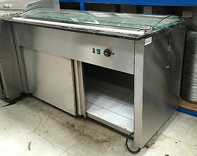 Hot/Wet Display Cabinet - Bain Marie