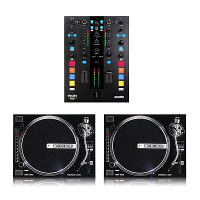 Mixars Duo Full DJ Package with Mixer and 2 refurbished Reloop RP8000 Turntables