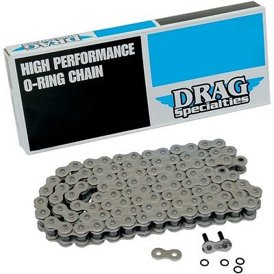 Drag Specialties 530 Series Chrome 110 Link Chain 1222-0264 For Harley 1936-90