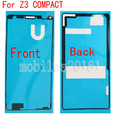 Front & Back Sticker Tape Glue Adhesive For Sony Xperia Z3 Mini Compact