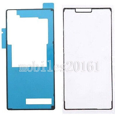 Front & Back Sticker Tape Glue Adhesive  For Sony Xperia Z3 D6603 D6653