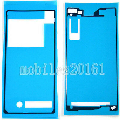Touch Screen Front+Back Adhesive Sticker Glue Tape For Sony Xperia Z2 L50W D6502