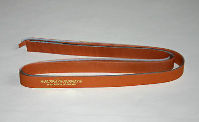 2 Tan Grips Fairway English Leather Dbl Handed Tennis