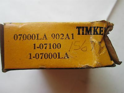 New Timken Tapered Roller Bearing 07000LA 902A1