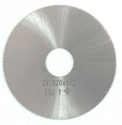 Cleveland C45361 2X.020X1/2 152T Hss Jewelers  Slotting Saw Blade