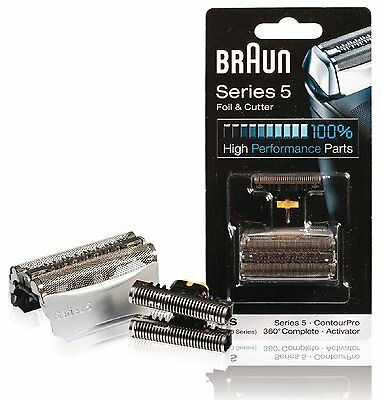 Braun Replacement Foil & Cutter - For 51s Series 5 and 8000 Series Activator, Co
