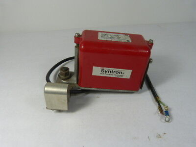 Syntron V4-RC Magnetic Vibrator 115V .9A  USED