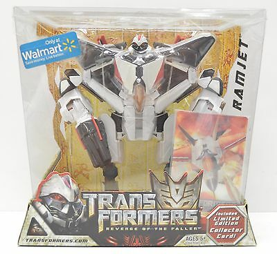 Transformers Revenge of the Fallen RAMJET WALMART action figure NIP 2009