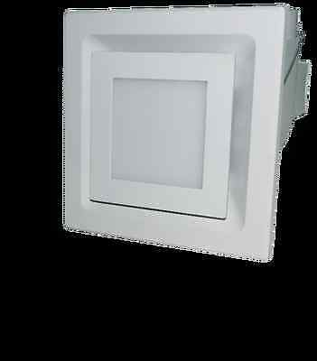"""2-in-1 """"Premiun"""" EXHAUST FAN WITH 16W LED LIGHTS - WHITE"""