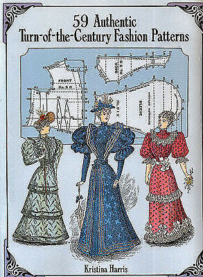 59 Authentic Turn-of-the-Century Fashion Patterns Dolls People, Research