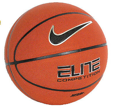 Authentic NIKE Basket Ball Size 7 Outdoor Net Playing Elite Competition 8-Panel