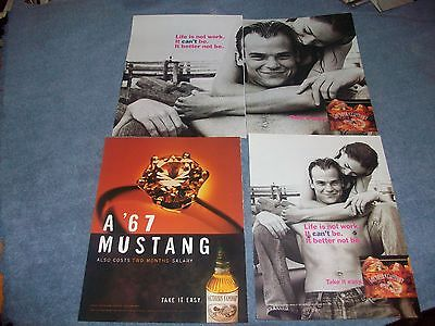 20 Ad Lot For Southern Comfort Whiskey 1980's thru 2000's