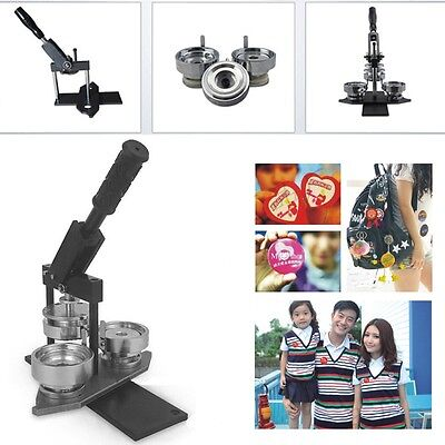 DIY Button Pin Badge Making Machine + 55mm Mould Badge Maker Machine