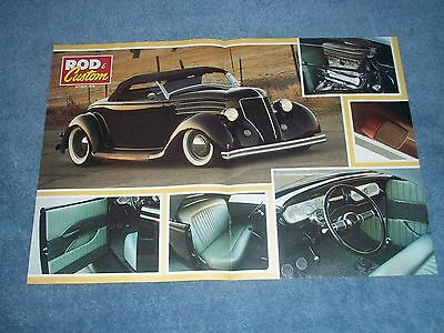 """1936 Ford Roadster Hot Rod Article """"Done Deal"""""""