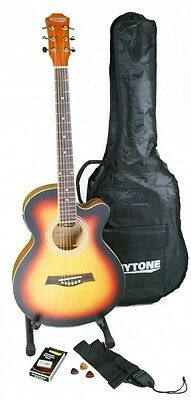 Mini Jumbo Acoustic / Western Guitar Beginner's Set