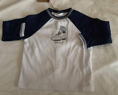 TIMBERLAND Baby Boys SZ 12M 74 (9-12mths) LONG SLEEVE TEE/TOP - NWT *SO CUTE*