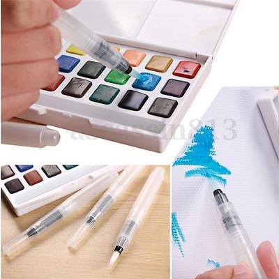 3Pcs Pilot Water Brush Ink Pen for Water Color or Calligraphy Drawing Painting