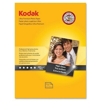 50 Sheets Kodak Ultra Premium 280gsm Glossy A4 Photo Paper