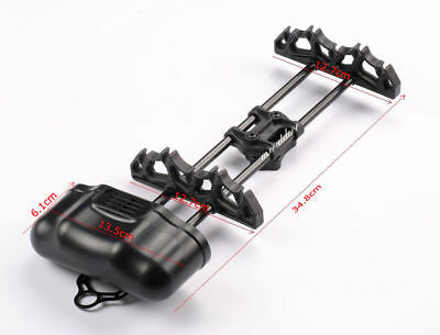 1PCS Archery Octane 5 Arrow Quiver Black for Compound Bow Hunting Shooting