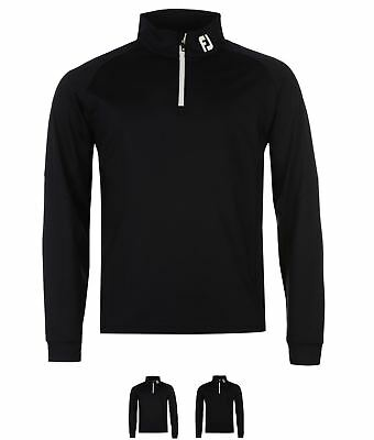 SALDI Footjoy Chillout Pull Over Mens Black