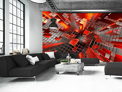 Future City Graphic Wall Mural Photo Wallpaper GIANT DECOR Paper Poster
