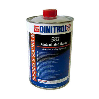 Dinitrol Silicone Cleaner & Remover 1 Litre Windscreen Fitting Bonding Glue