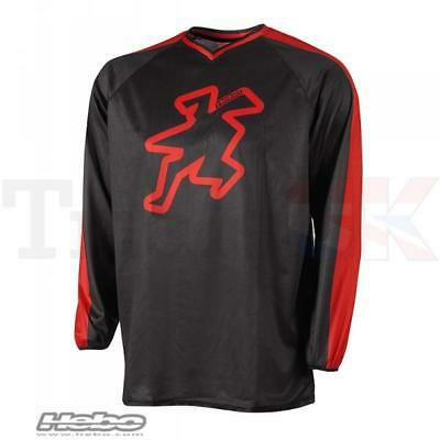 Hebo BAGGY 2 Shirt in Red for Trials Enduro MX Offroad