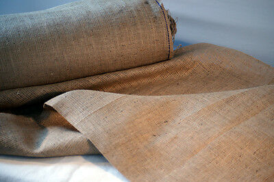 Medieval/LARP/Re enactment QUALITY HESSIAN FABRIC The more you buy more you save