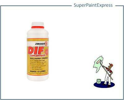 Zinsser DIF - Wallpaper Stripper - Fast And Easy Removal - MAKES 12 Litres