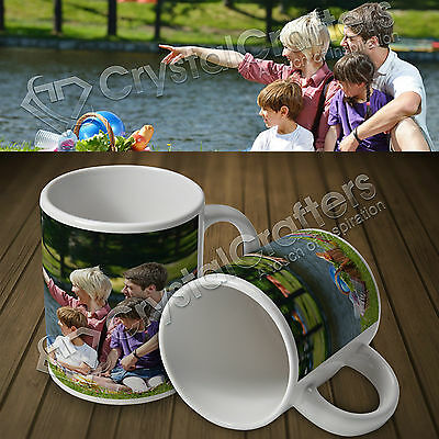 Personalised Custom Photo Mug Cup Gift 11oz - Your Photos,Text & Design